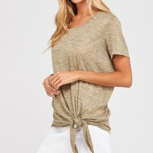 Tops - Just In! Jessica tied knot top